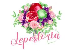 Lepestoria, букеты из цветов, фруктов и овощей