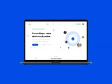 Дизайн Bloggers сайта веб версия