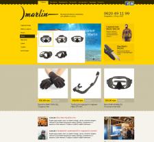 Сайт компании Marlin