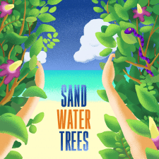 Sand Water Trees