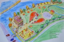 Парк с оздоровительным комплексом