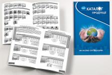 Дизайн и вёрстка каталога светотехники