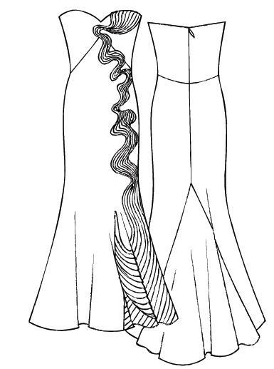 Шьем платье своими руками выкройки на новый